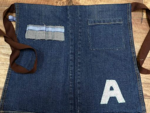 Upcycle Jeans & Make An Apron