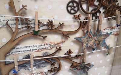 The Great Craft Challenge – Mixed Media Frame