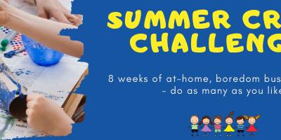 Kid's Summer Craft Challenge