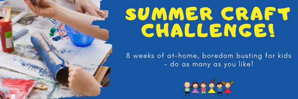Kid's Summer Craft Challenge