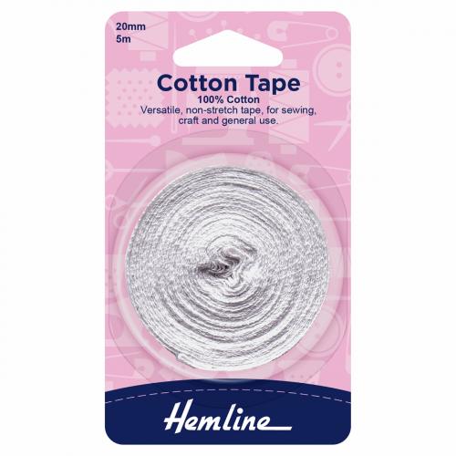Hemline Cotton Tape