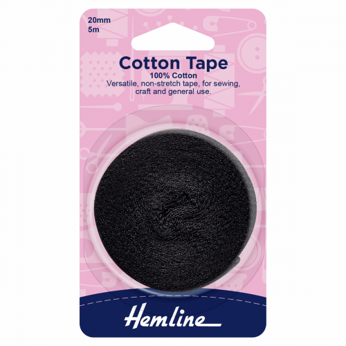 Hemline Cotton Tape