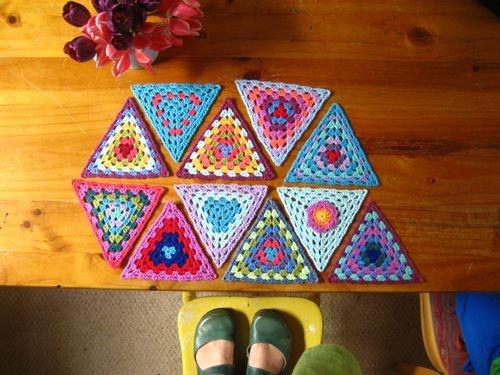 Crochet Bunting Project