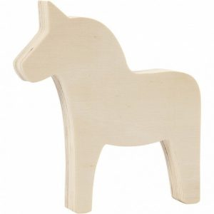 Wooden Horse Shape