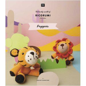Rico Ricorumi Pattern book Puppies