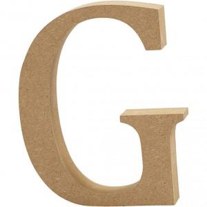 MDF Letter G
