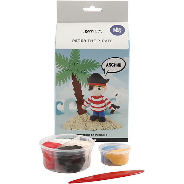 Clay kit pirate