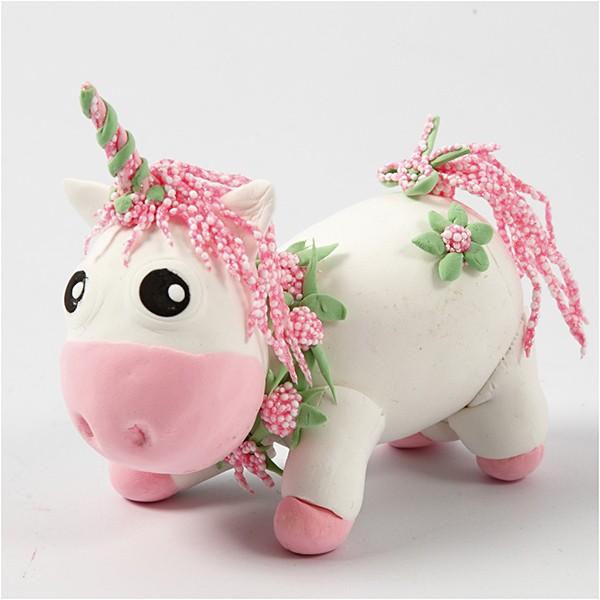 SIlk Foam clay unicorn