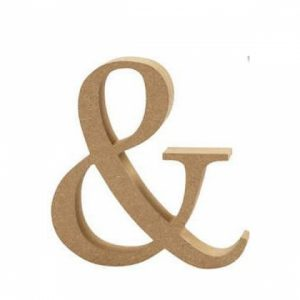 MDF Numbers and Symbols &