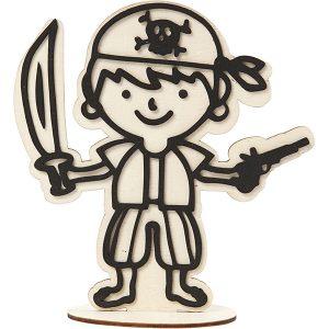 Wood pirate