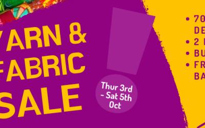 Yarn & Fabric Sale