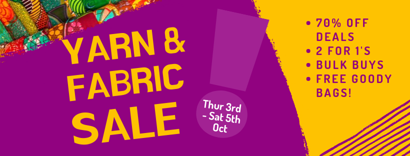 Yarn & Fabric Sale