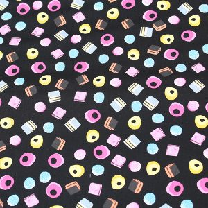 Licorice Allsorts Fabric