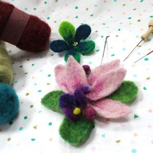 learn needle felting
