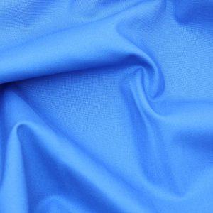 Plain Cotton Fabric blue