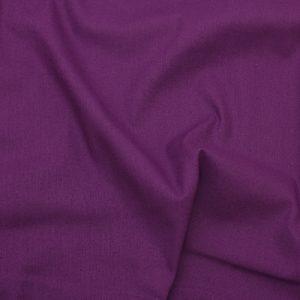 Plain Cotton Fabric Purple
