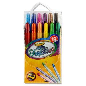 12 Little Twisties Crayons