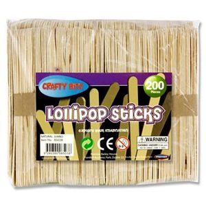 lollipop sticks