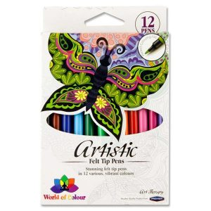 12 Artistic Markers