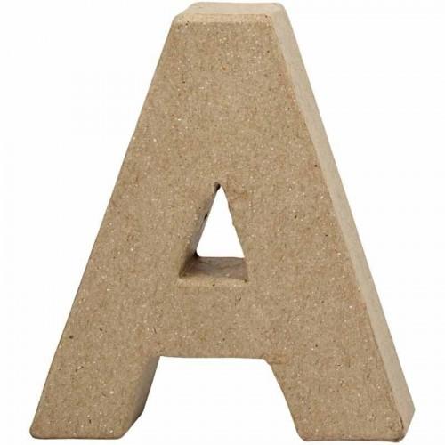 Paper Mache Letters A