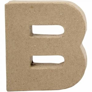 Paper Mache Letters B