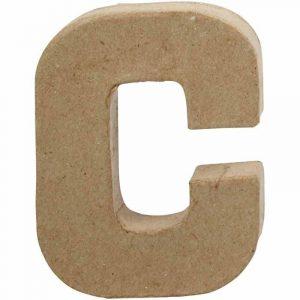 Paper Mache Letters C