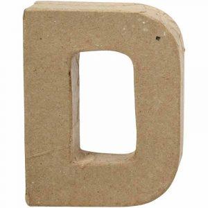Paper Mache Letters D