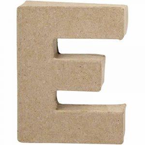 Paper Mache Letters E