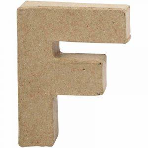 Paper Mache Letters F