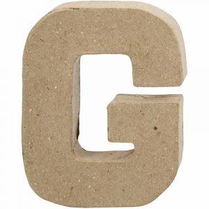 Paper Mache Letters G