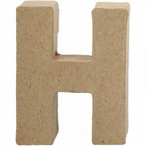 Paper Mache Letters H