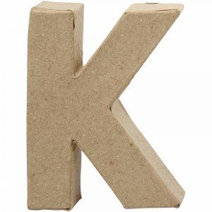 Paper Mache Letters K