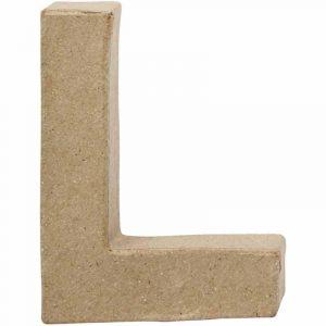 Paper Mache Letters L