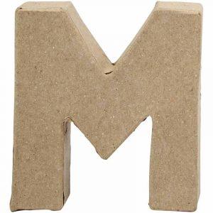 Paper Mache Letters M