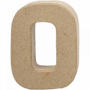 Paper Mache Letters O