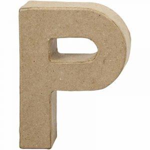 Paper Mache Letters P