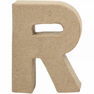 Paper Mache Letters R