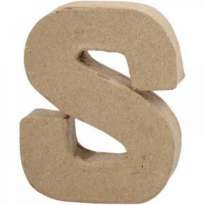 Paper Mache Letters S