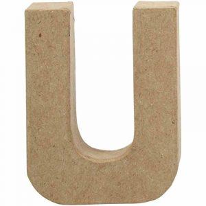 Paper Mache Letters U