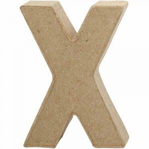 Paper Mache Letters X