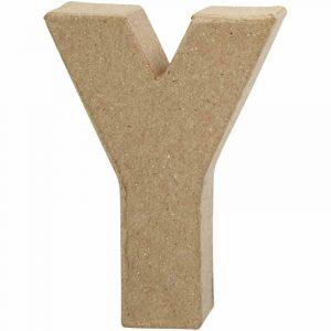 Paper Mache Letters Y