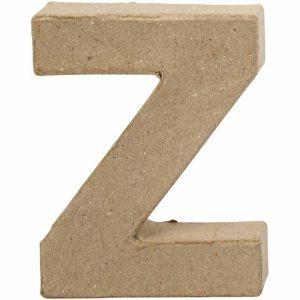 Paper Mache Letters Z