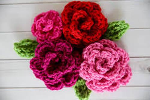 Fantastic Crocheted Flowers