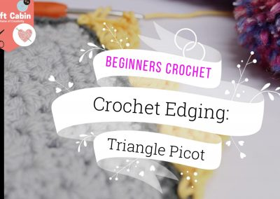 Crochet: Decorative Picot Edge