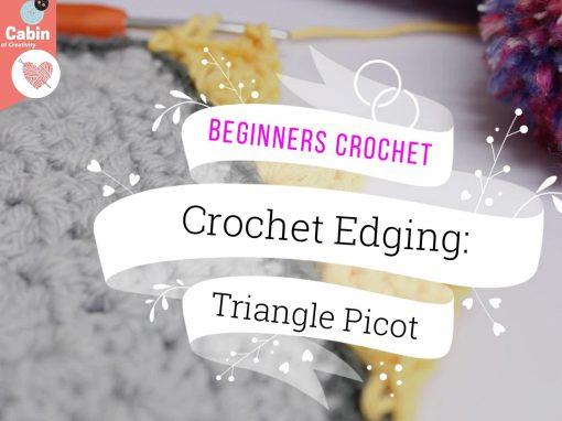 Crochet: Decorative Picot Edge