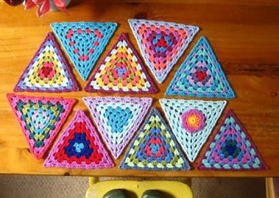 Crochet Bunting Project