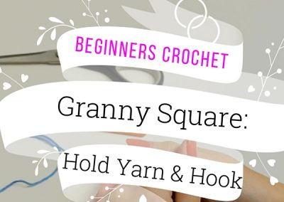 Crochet: How to Hold a Hook & Yarn