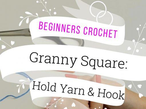 Crochet: Crochet Slip Knot Three Ways to Start