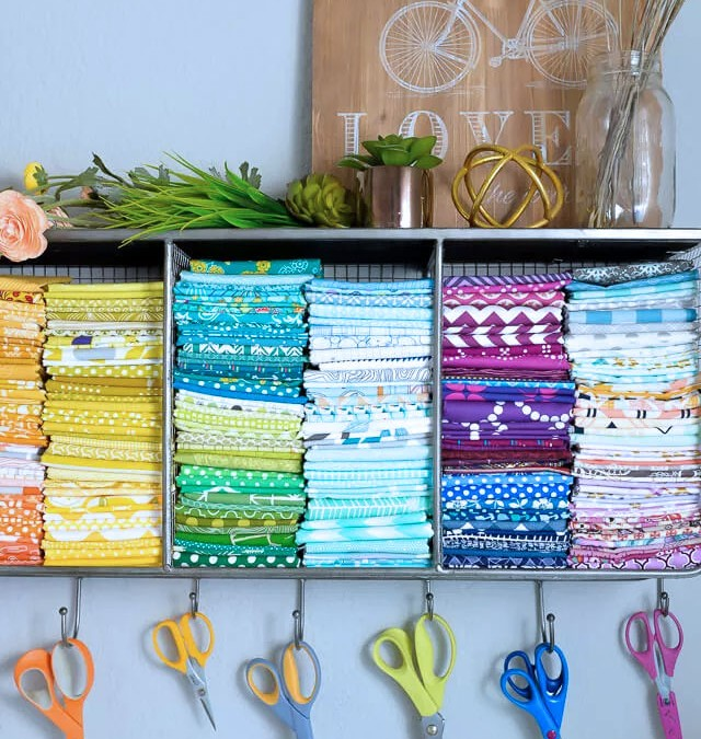 5 Clever Ways to Keep Your Craft Area Organised