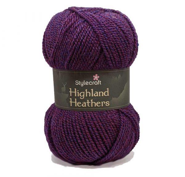 Stylecraft Highland Heathers